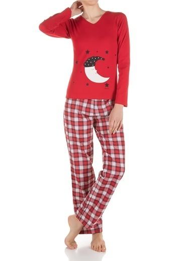 Doremi Pijama Takım Kırmızı